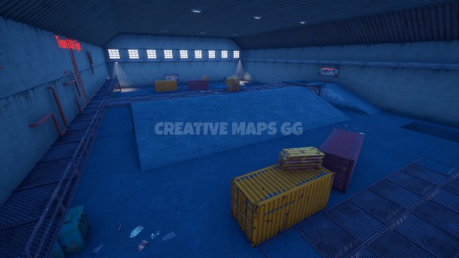 Hangar Pvp Box Team Fight Map Gur Anov Fortnite Creative Island Code